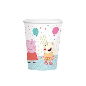 Peppa Pig Party Cups 250ml, pk8