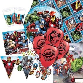 Mighty Avengers Ultimate Party Pack for 8