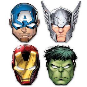 Mighty Avengers Die Cut Masks, pk6