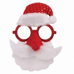 Santa Glasses Hat & Beard