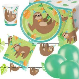 Sloth Party Ultimate Pack for 8