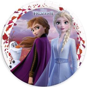 Disney Frozen 2 Party Plates 23cm, pk8