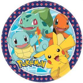 New Pokemon Dinner Plates 23cm, pk8