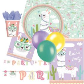 Llama Party Time Ultimate Party Pack for 8