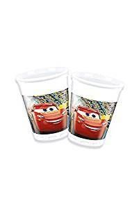Disney Cars 3 Plastic Party Cups, Pk8