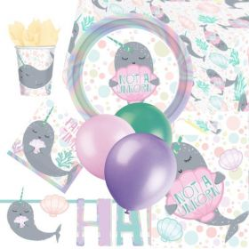 Narwhal Party Ultimate Party Pack for 8