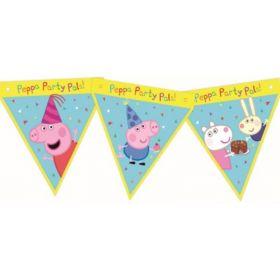 Peppa Pig Card Flag Banner 1.6m