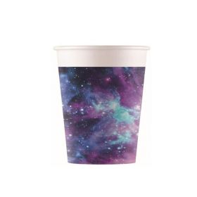 Galaxy Party Cups 200ml, pk8