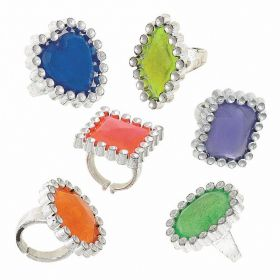 Jewel Rings, pk12