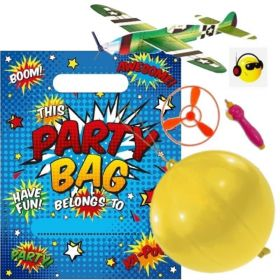 Boys Pre Filled Party Bags (no.1), One Supplied