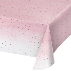 Rose All Day Party Tablecover 1.37m x 2.6m