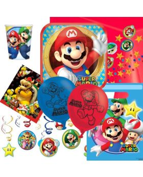 Super Mario Ultimate Party Pack for 8