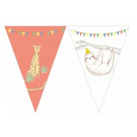 Safari Party Flag Banner 2.3m