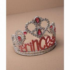 Plastic Silv Princess Tiara