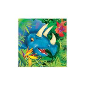 16 Dinosaur Lunch Napkins