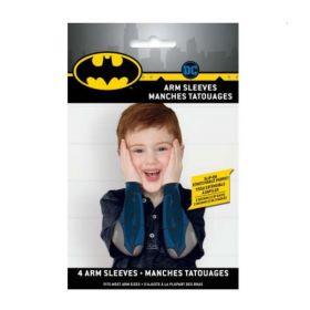 Batman Party Arm Sleeves, pk4