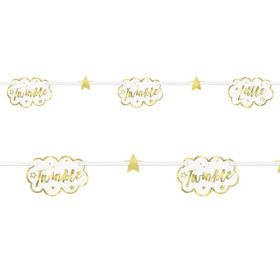 Twinkle Twinkle Little Star Paper Garland 2.13m