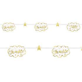 Twinkle Twinkle Little Star Paper Garland 2.13m