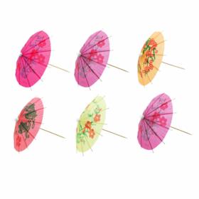 Cocktail Umbrella Assorted Picks, pk20