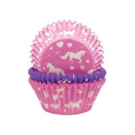 Unicorn Cupcake Cases, pk75