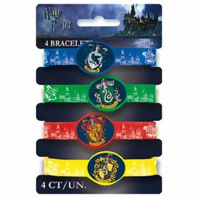 Harry Potter Stretchy Bracelets pk4