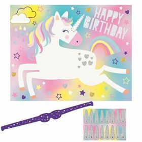 Unicorn Birthday Party Game for 16
