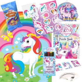 Unicorn Pre Filled Party Bags