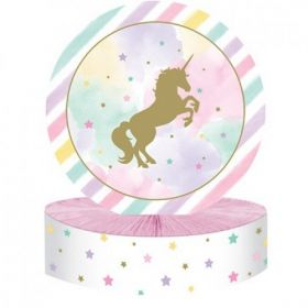 Unicorn Sparkle Foil Table Centrepiece