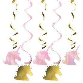 Unicorn Sparkle Dizzy Danglers Party Decoration
