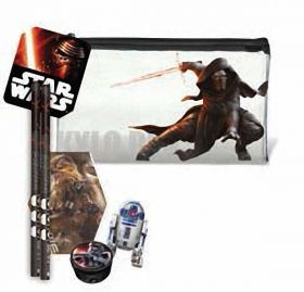 Star Wars Flat Pencil Case & Stationery