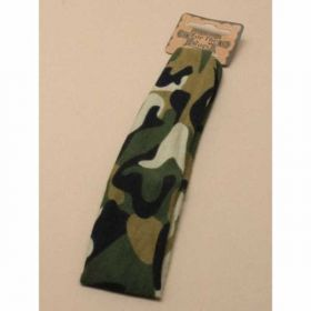 Camouflage Print Fabric Bandeau