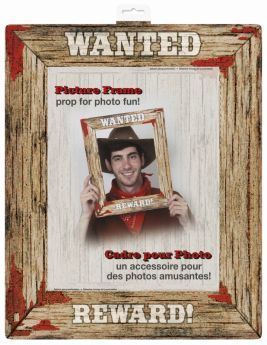 Rodeo Western Wanted Frame