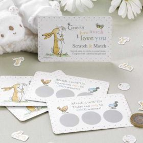 Guess How Much I Love You Scratch & Match Card Game pk10