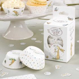 Guess How Much I Love You Cupcake Cases pk100