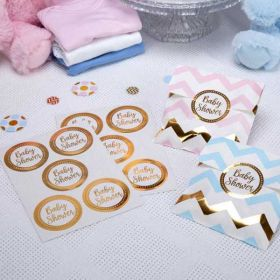 Pattern Works - Sticker Baby Shower pk25