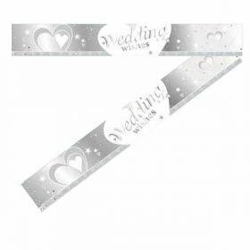 Wedding Wishes Foil Banner