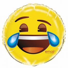 Cry Emoji Foil Balloon 18''