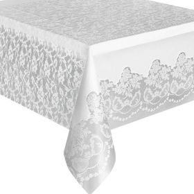 White Lace Tabelcover