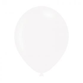 "Pearlised White Latex Balloons 11"""