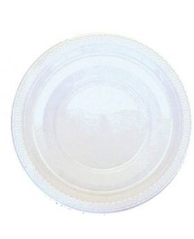 Frosty White Plastic Party Bowls 20pk