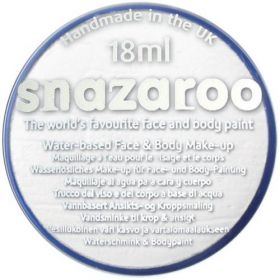 White Snazaroo Face Paint Tub