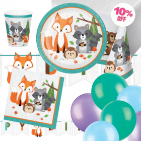 Wild Woodland Animals Party Ultimate Pack
