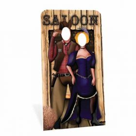 Wild West Stand In Cardboard Cutouts