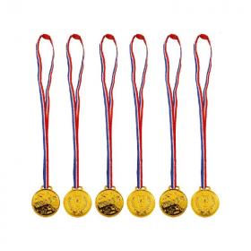 6 Gold Winner Medals