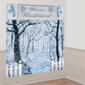 Winter Wonderland Scene Setter