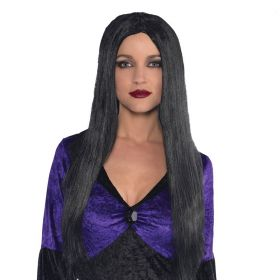 Adults Black Wig Witch