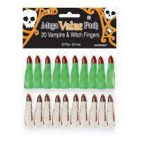 Halloween Witch & Vampire Finger Mega Pack
