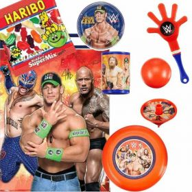 Filled WWE Wrestling Party Bags