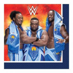 WWE Luncheon Napkins 33cm pk16