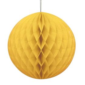 Sun Yellow Honeycomb Ball Party Decoration 20cm